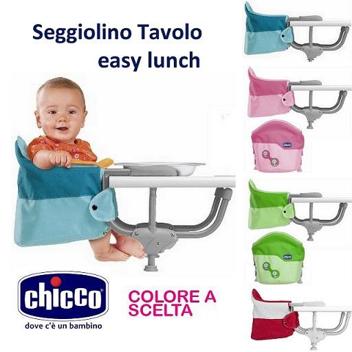 Seggiolino da tavolo chicco easy lunch skizzo bimbi for Chicco seggiolino tavolo