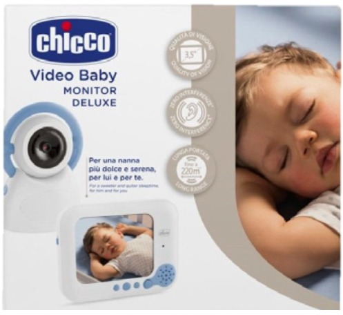 chicco video baby monitor de luxe